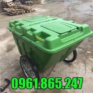 Thùng rác nhựa 400l