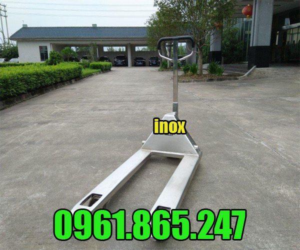 Xe nâng tay inox