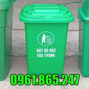 Thùng rác nhựa 50l