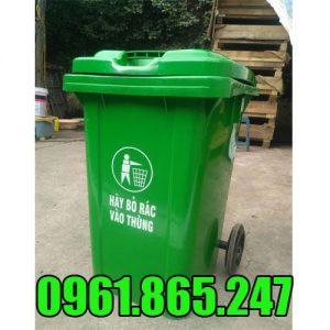 Thùng rác nhựa 80l