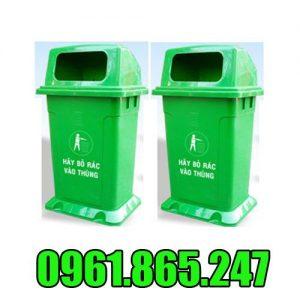 Thùng rác nhựa 95l