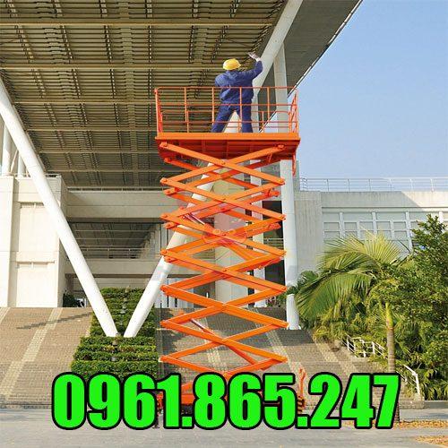 Thang nâng điện 9m
