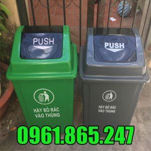 Thùng rác nhựa 40l