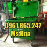 Địa chỉ bán thùng rác 660l tại Hà Nội