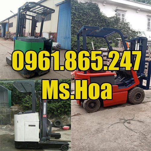 Xe nâng điện cũ tại Hà Nội