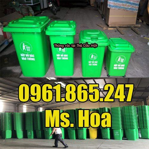 Thùng rác tại Thủ Dầu Một