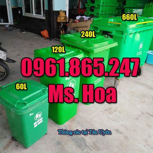 Thùng rác tại Tân Uyên