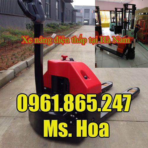 Xe nâng điện thấp tại Hà Nam