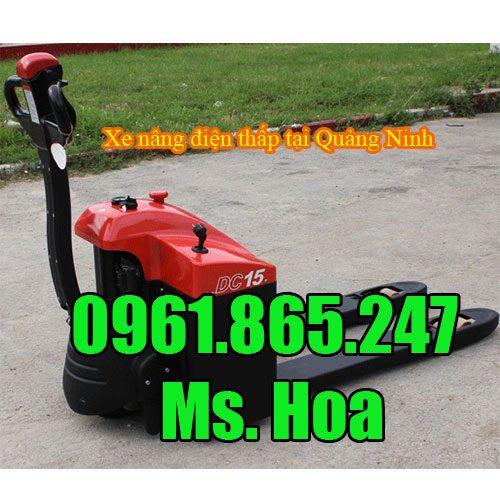 Xe nâng điện thấp tại Quảng Ninh