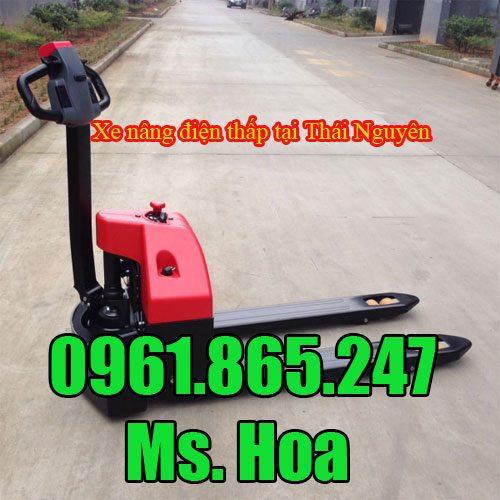 Xe nâng điện thấp tại Thái Nguyên