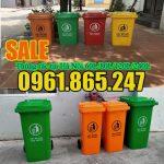 Thùng đựng rác tại Hà Nội