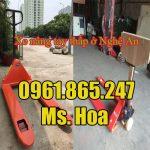 Xe nâng tay thấp ở Nghệ An