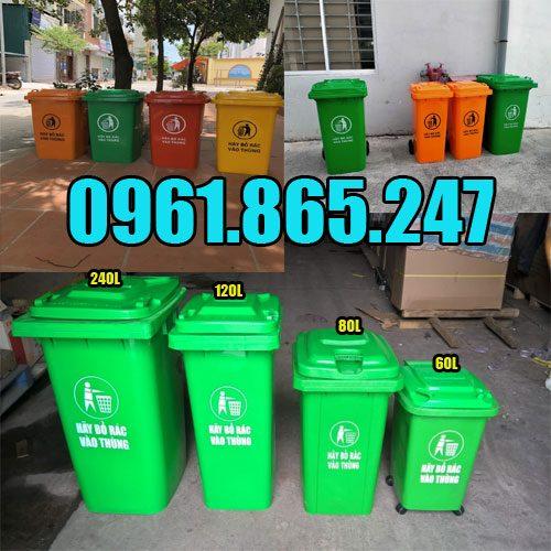 Thùng đựng rác sinh hoạt