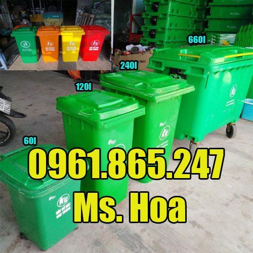Thùng đựng rác tại Bắc Giang