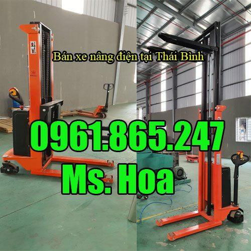 Xe nâng điện tại Thái Bình